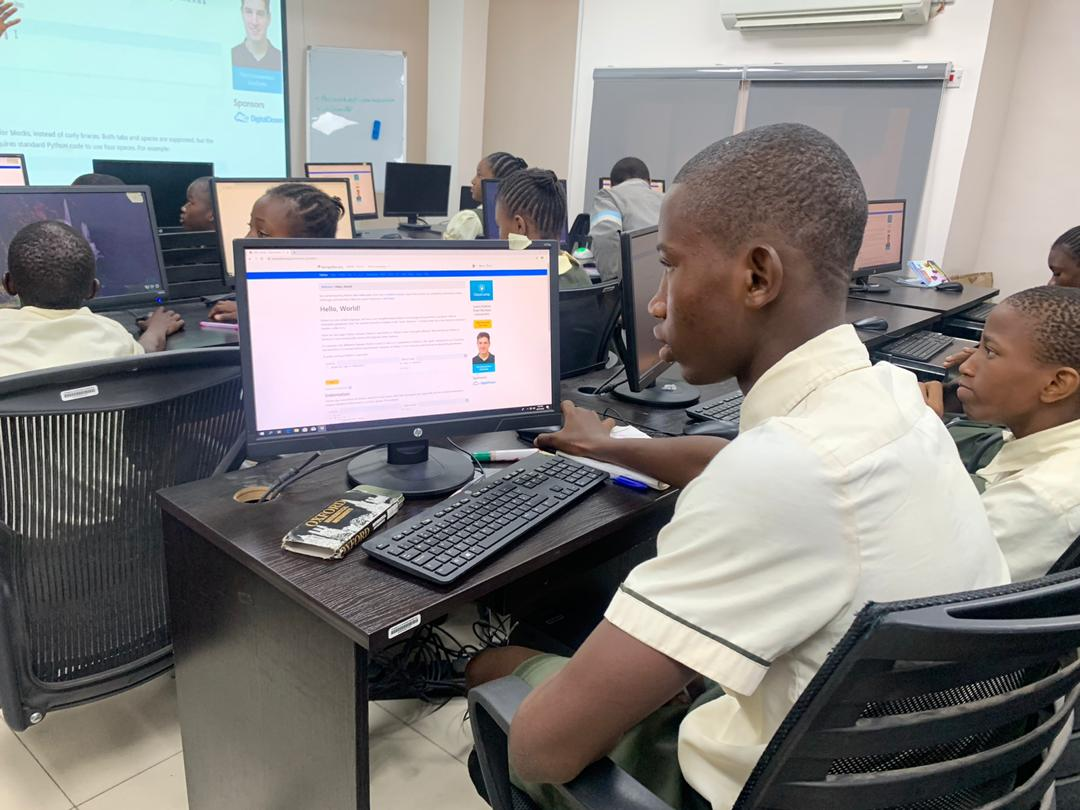 Visit to Access Bank for Access Programming